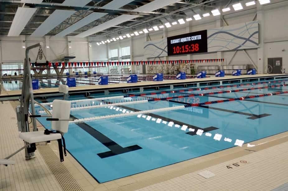 Image of Elkhart Health & Aquatics Competition Pool