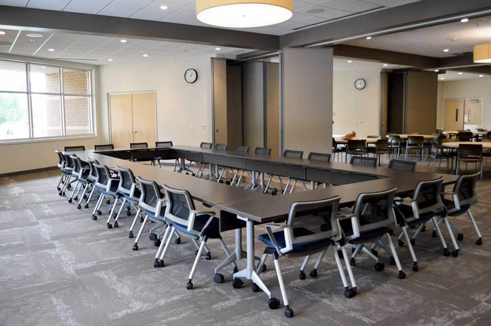 Image of Elkhart Health and aquatics Commons conference room