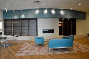 Image of Elkhart Health and aquatics Commons library