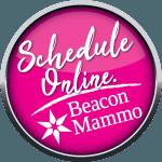 Schedule Online-Beacon Mammo button