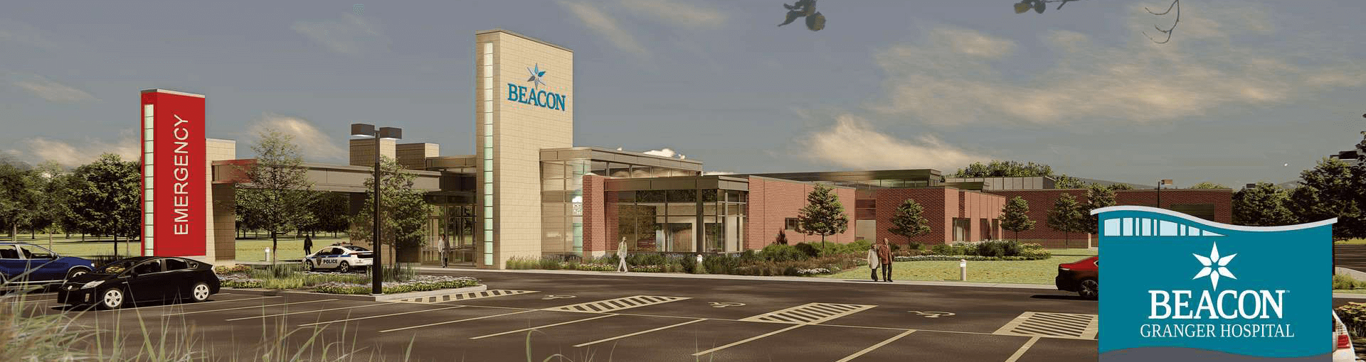 Beacon Granger Hospital Rendering