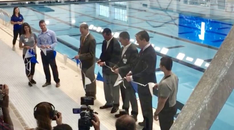 Ribbon Cutting at Elkhart Health and Aquatics grand opening