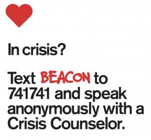 Text BEACON to 741741