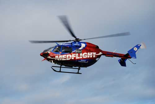 Memorial Medflight, serving hospitals in northern Indiana and Southwestern Michigan